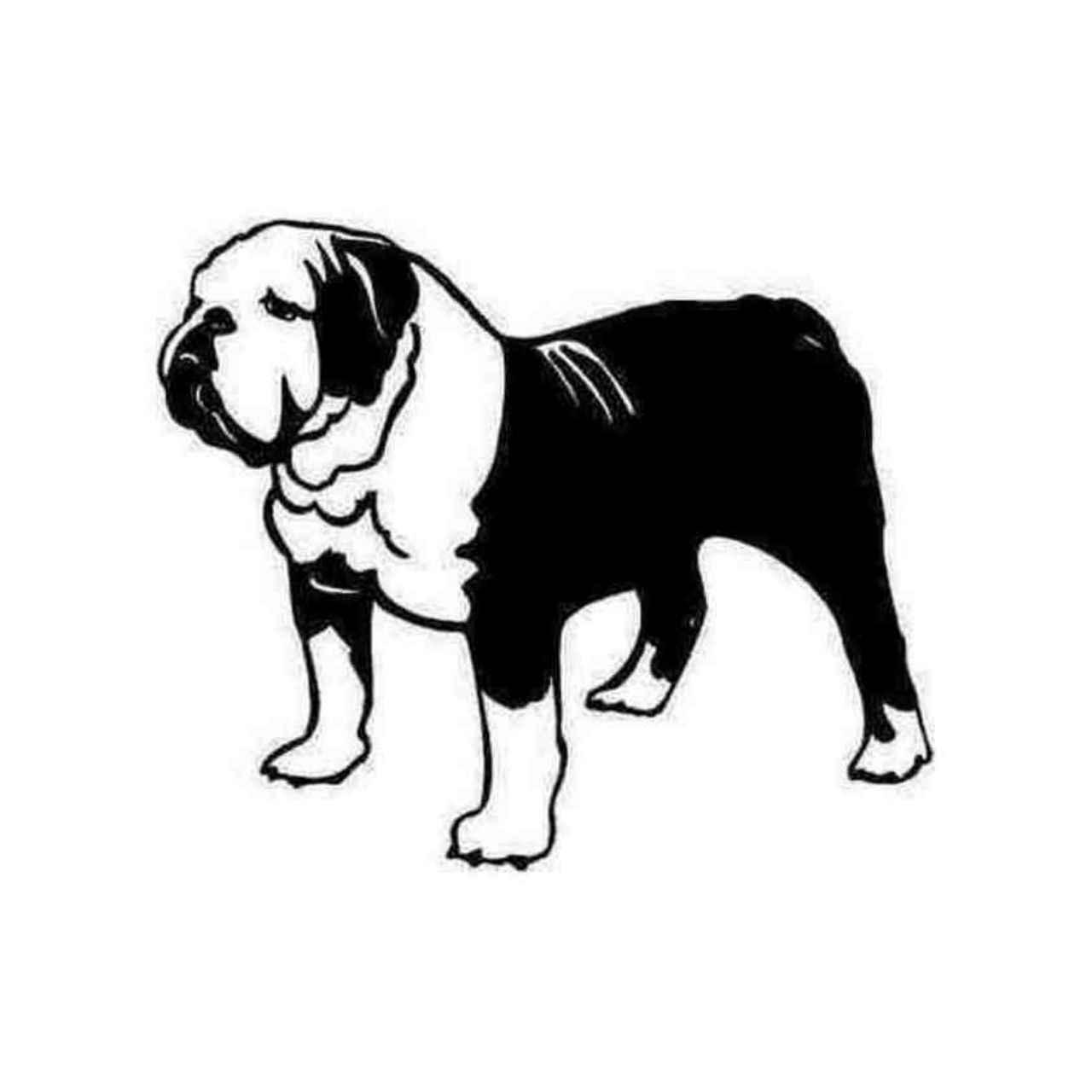 English Bulldog Silhouette At Getdrawings