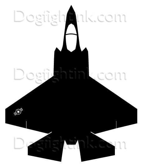 F 35 Silhouette At Free For Personal Use