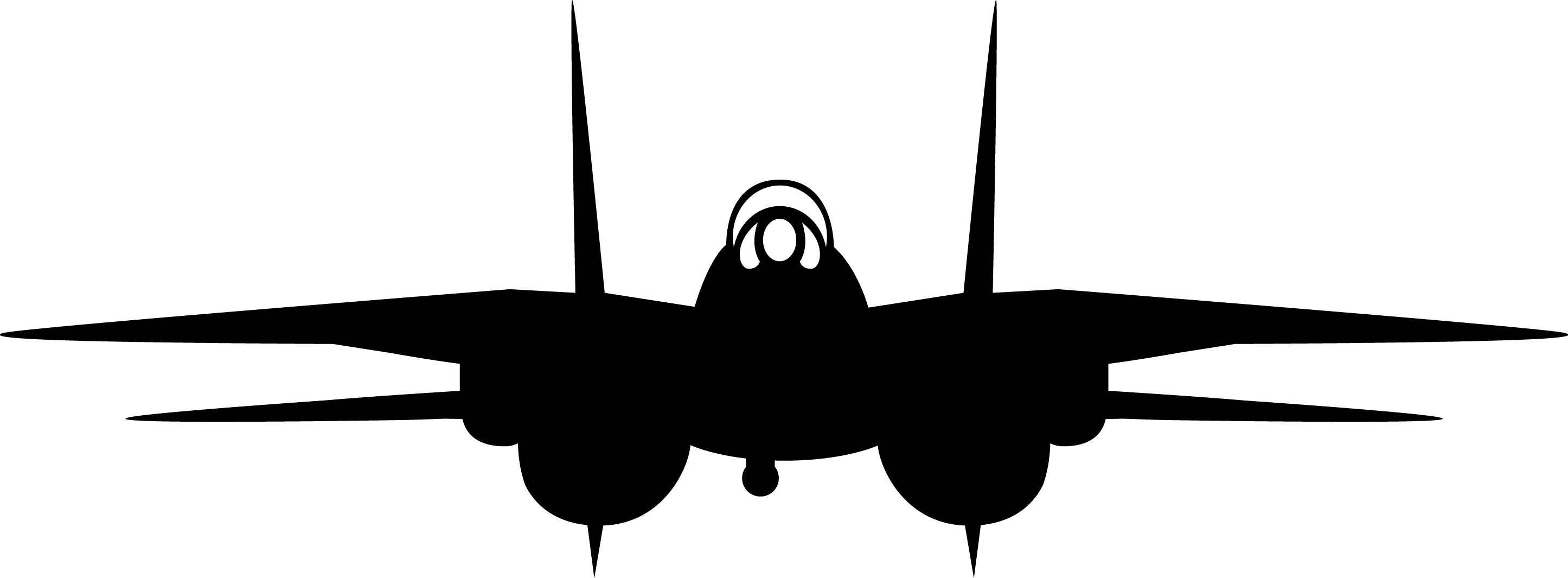 Fighter Jet Silhouette At Getdrawings
