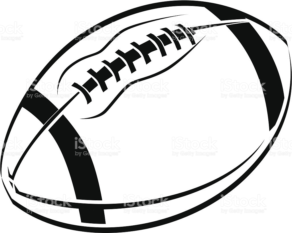 Football Silhouette Clip Art At Getdrawings