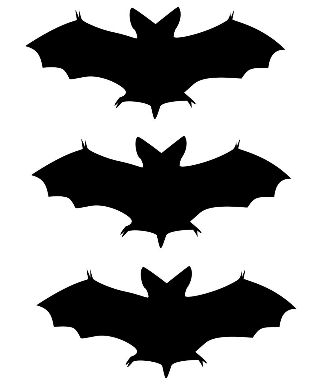 Free Printable Halloween Silhouette Templates At