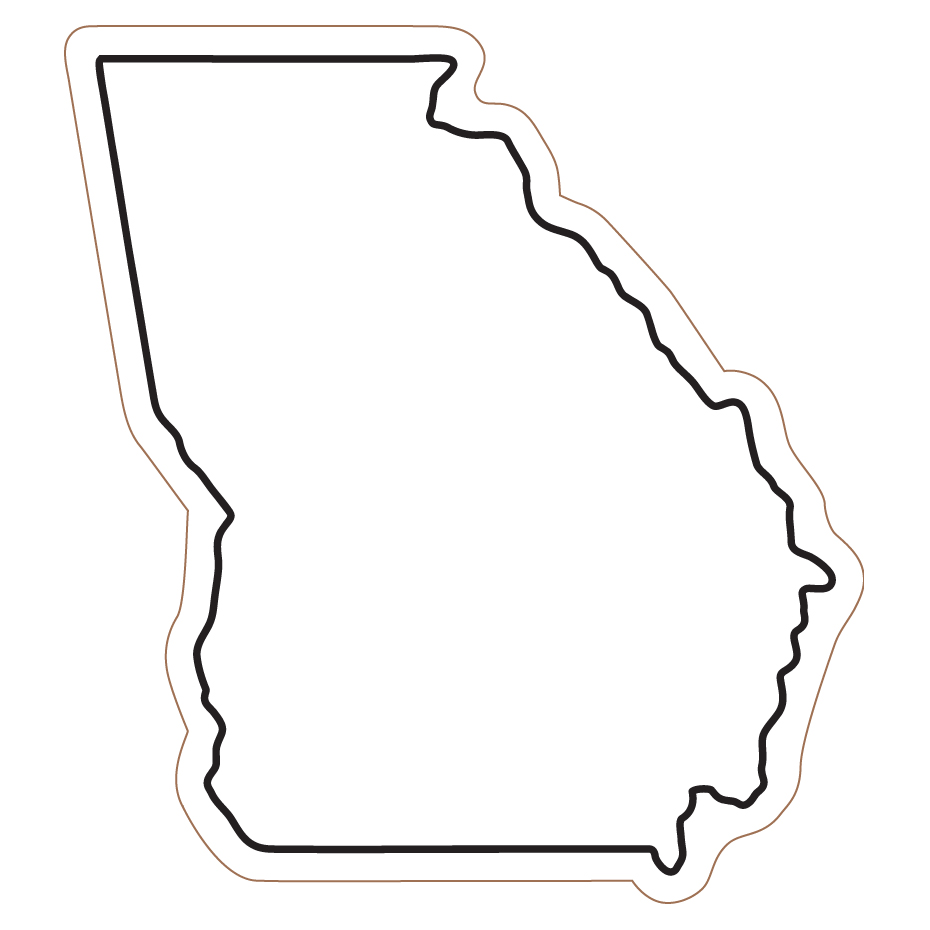 Michigan State Map Outline