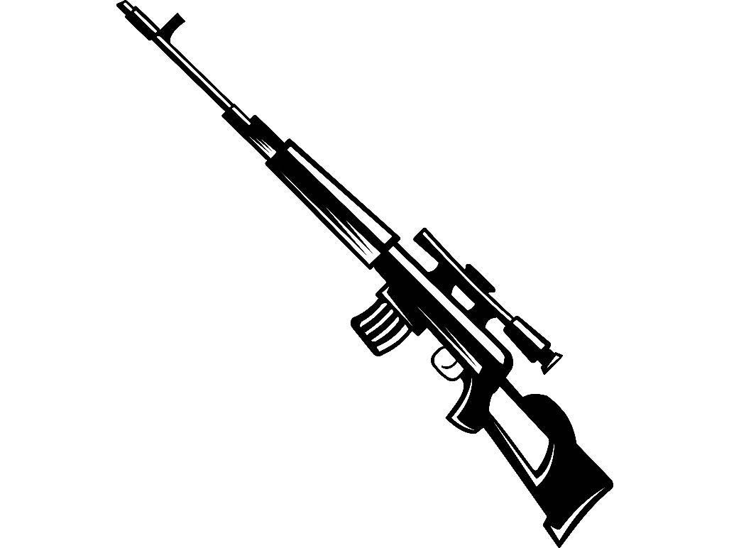 Gun Silhouette Clip Art At Getdrawings