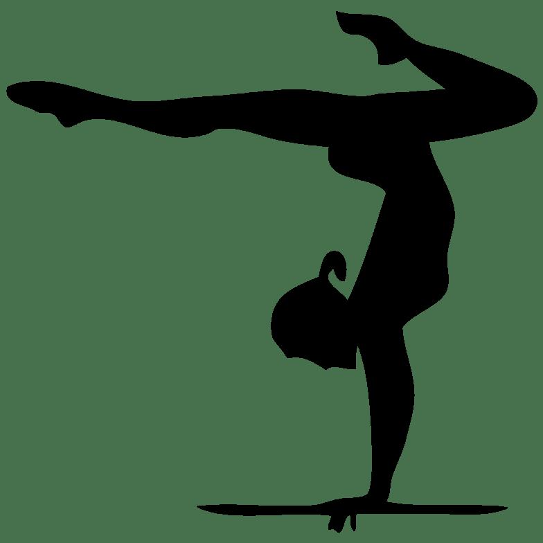 Cartwheel Clip Art Girl