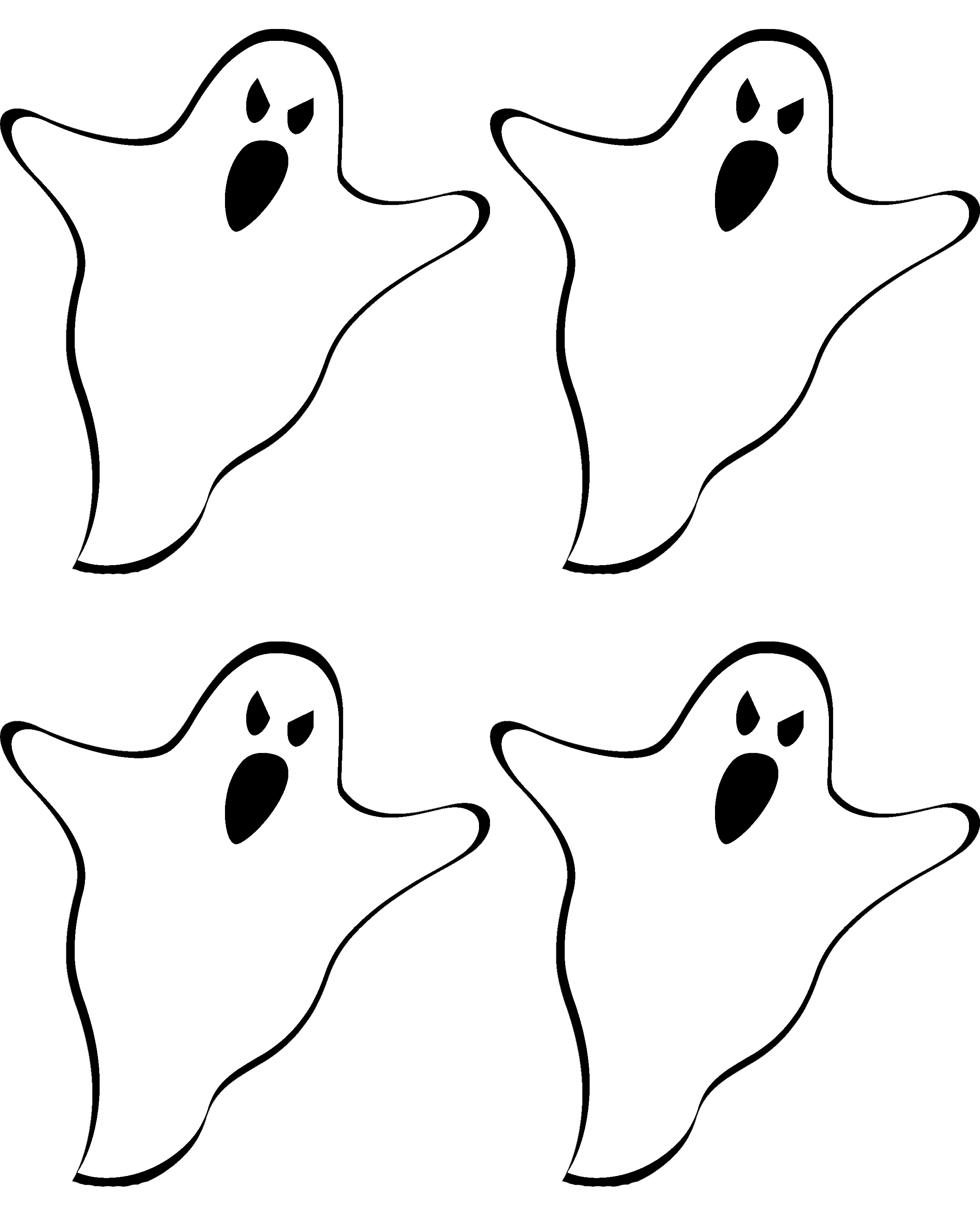 Haunted House Silhouette Template At Getdrawings