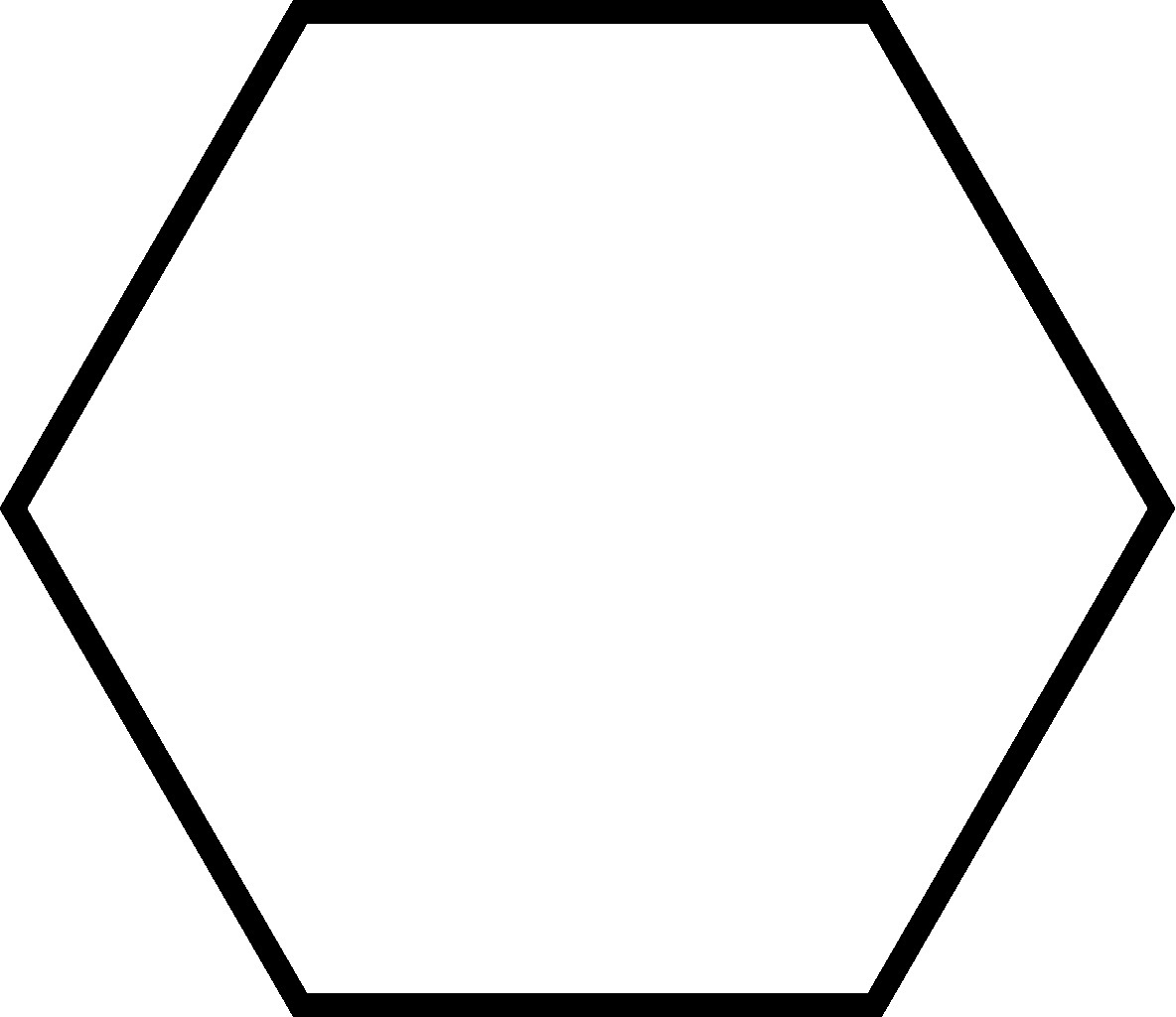 Hexagon Silhouette At Getdrawings
