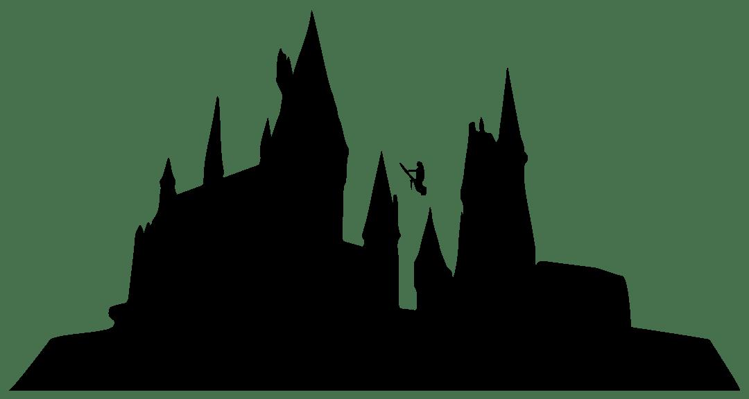 Image result for hogwarts skyline
