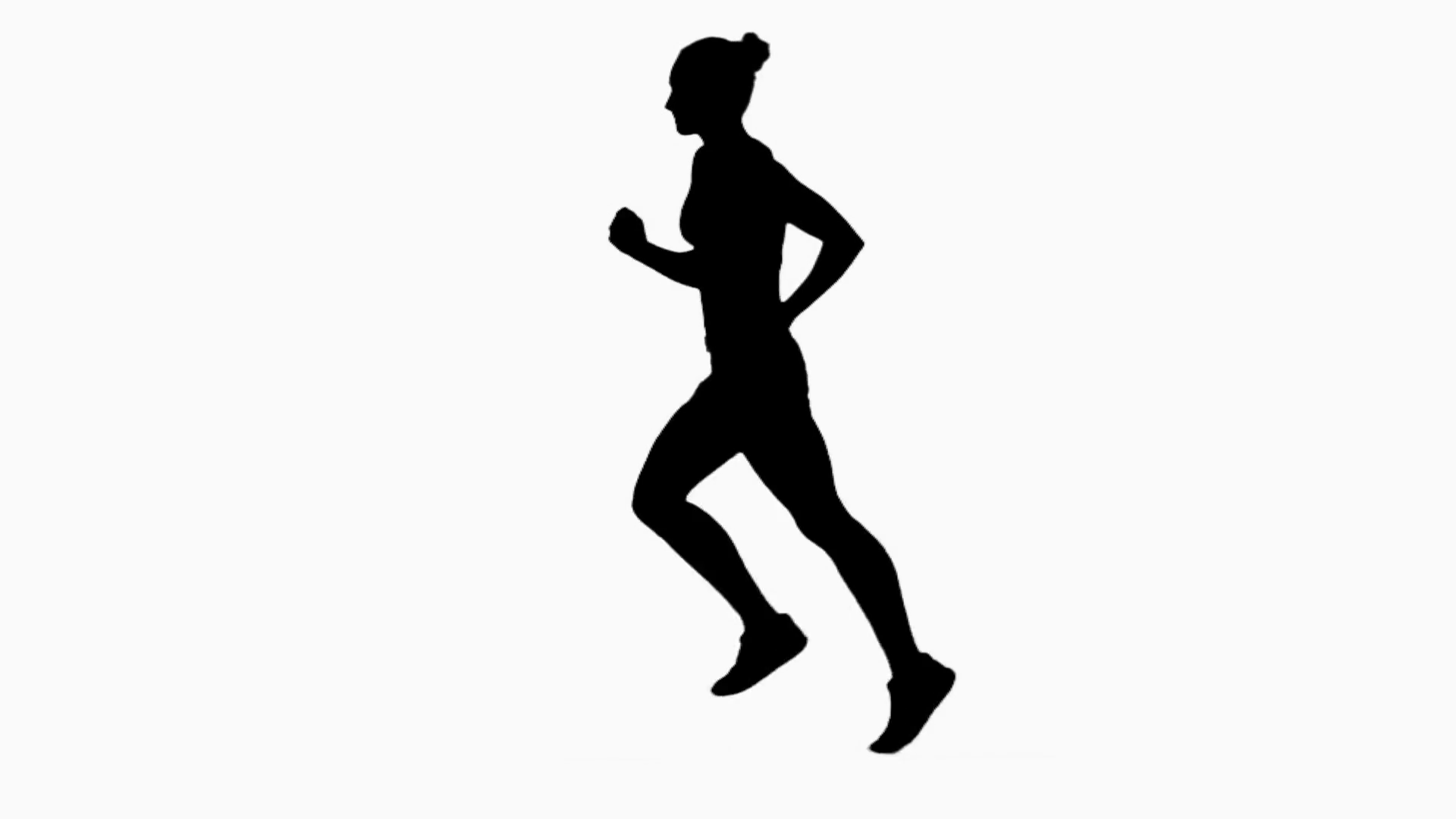 Jogging Silhouette At Getdrawings