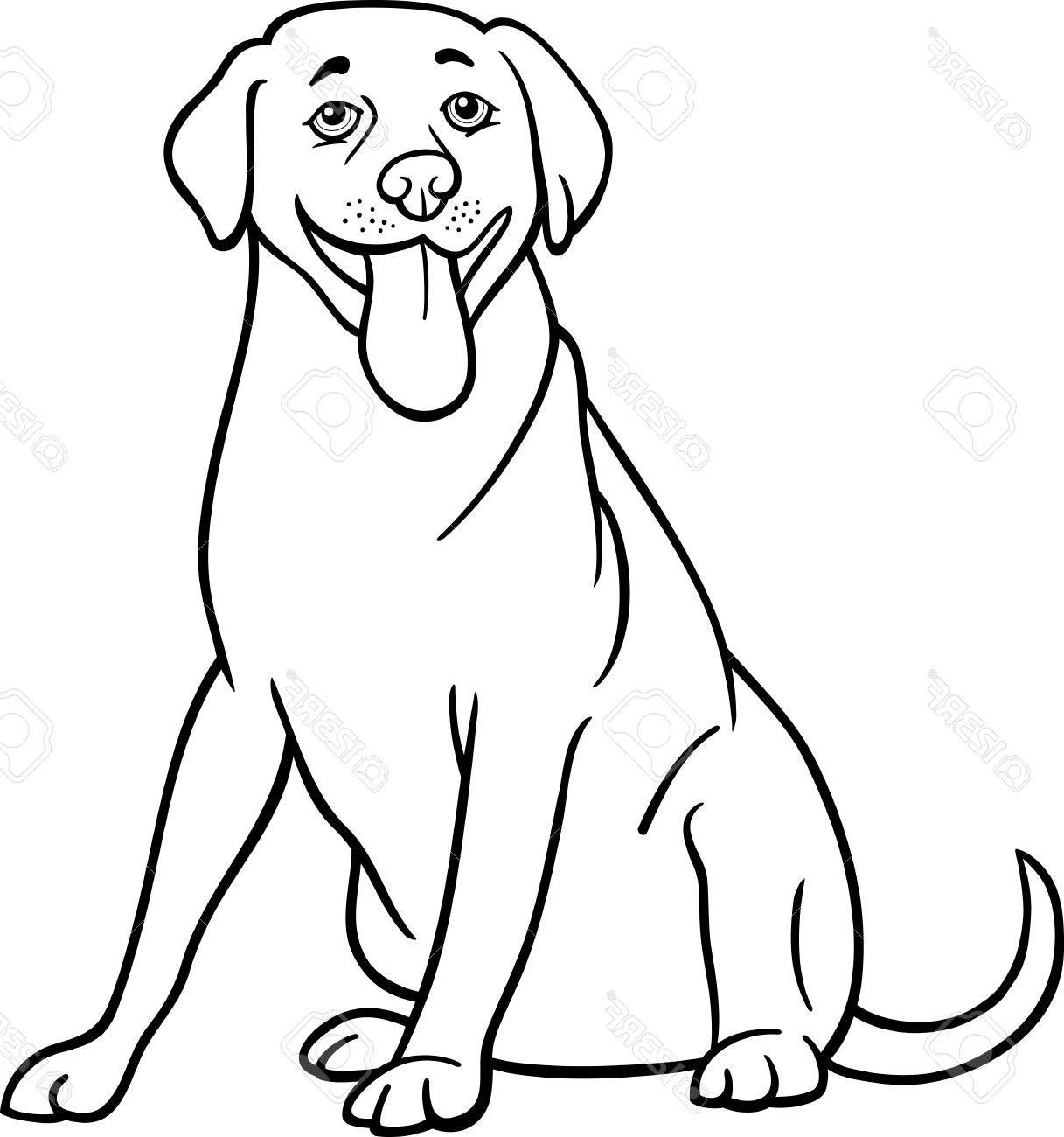 Labrador Silhouette Clip Art At Getdrawings