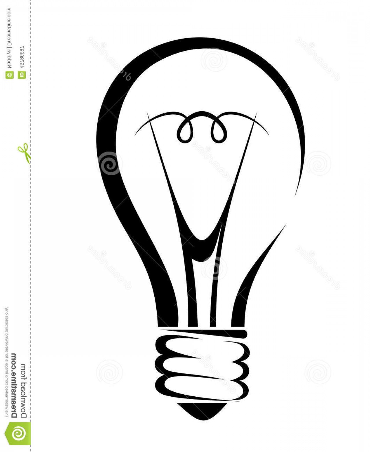 Light Bulb Silhouette At Getdrawings
