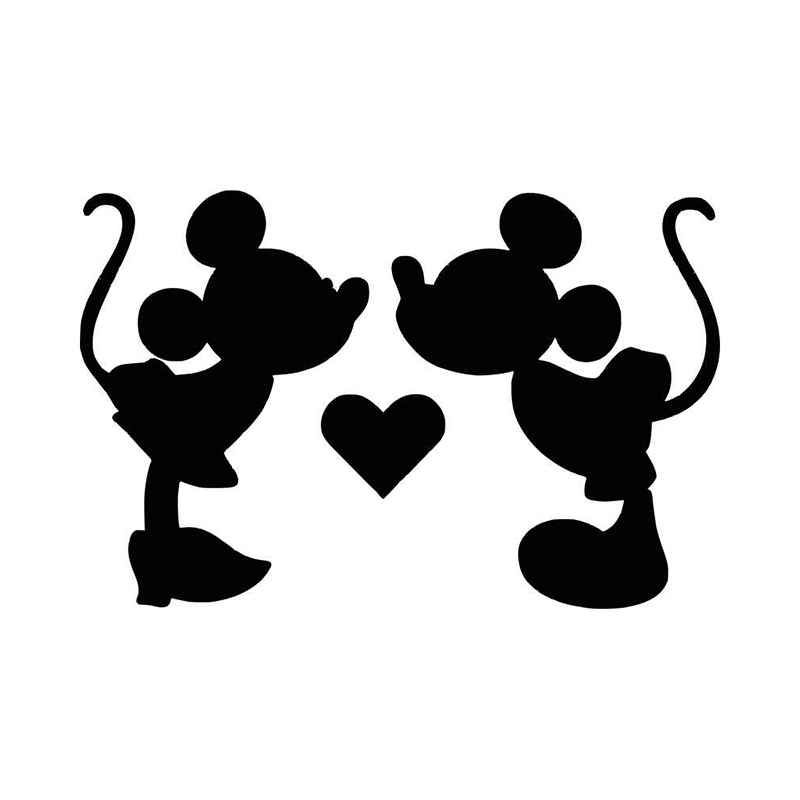 Download Mickey And Minnie Silhouette Clip Art at GetDrawings ...