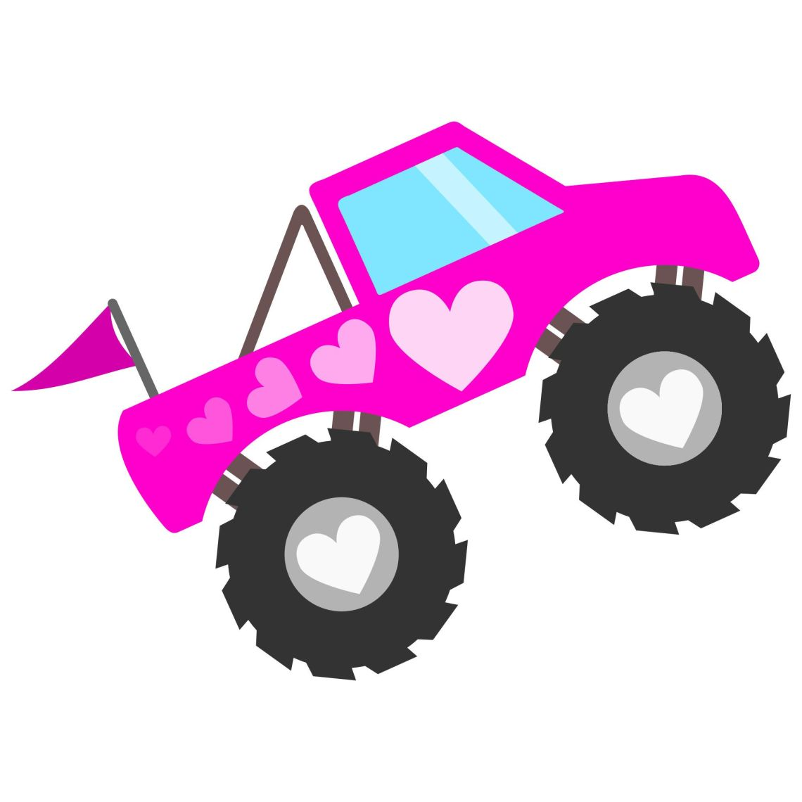 Download Monster Truck Silhouette at GetDrawings | Free download