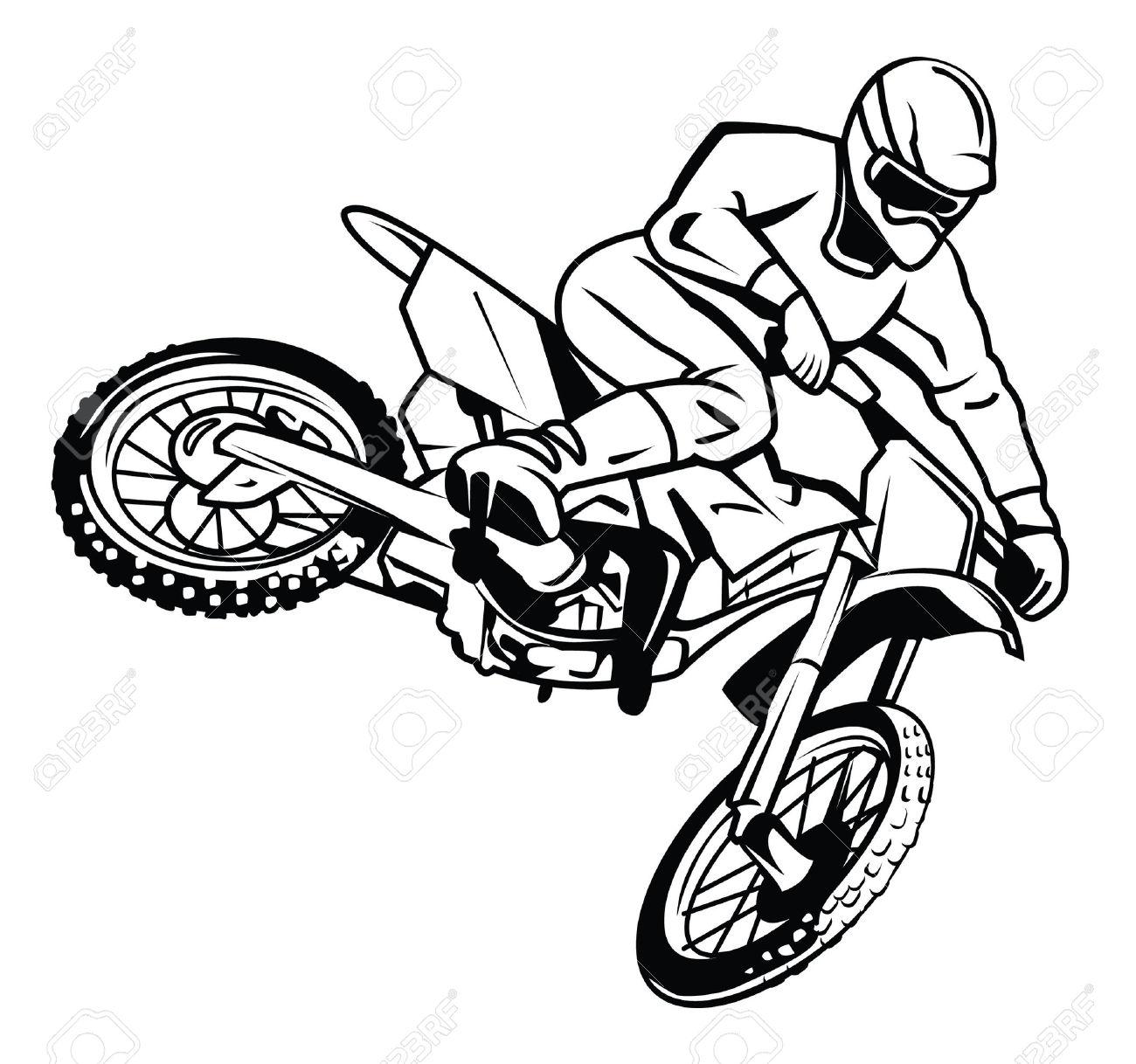 Motorcycle Wheelie Silhouette At Getdrawings