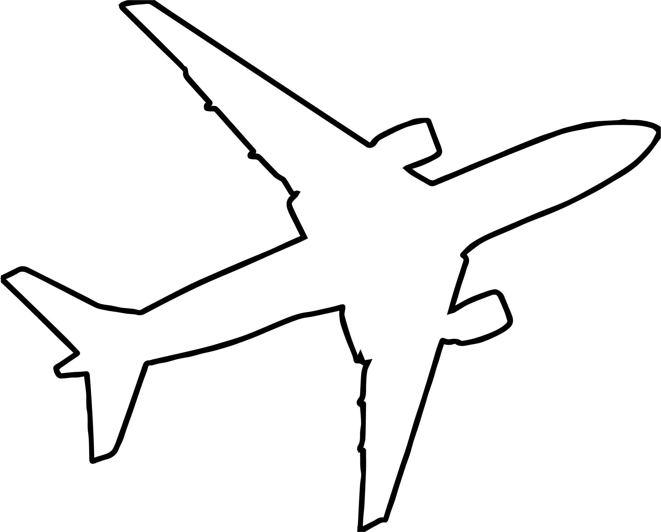 The Best Free Airplane Silhouette Images Download From
