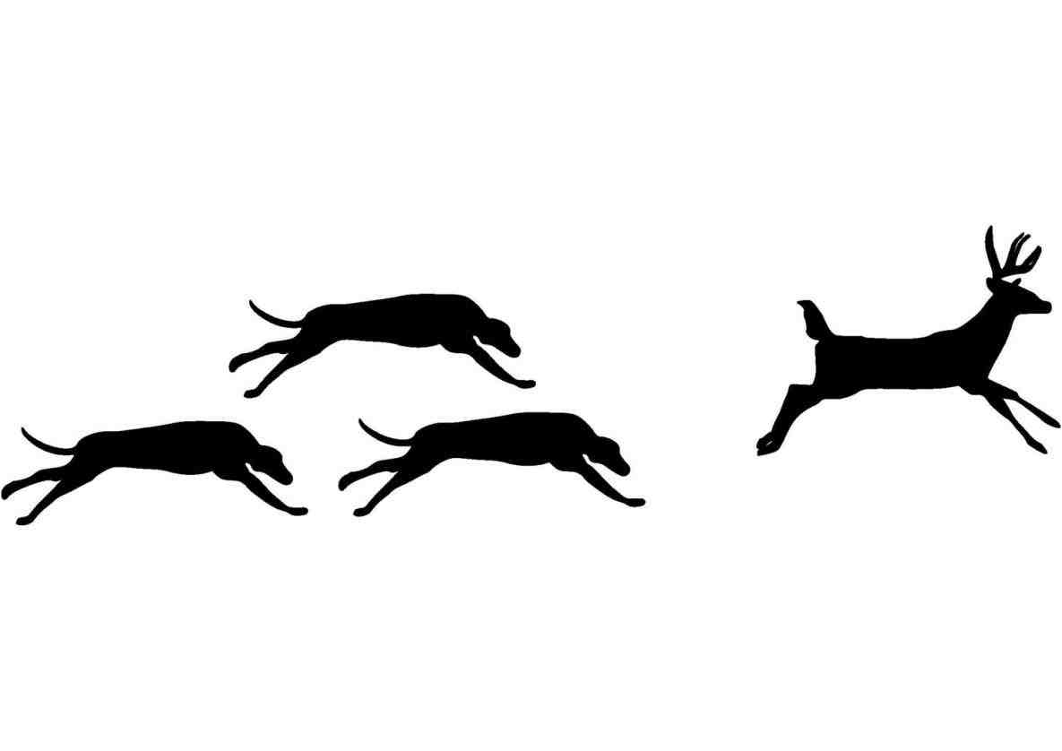 Running Dog Silhouette At Getdrawings