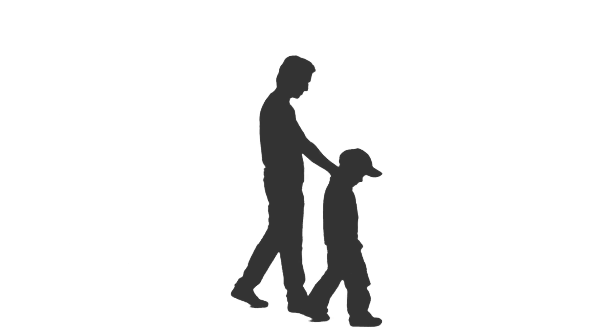 Silhouette Of Person Walking At Getdrawings