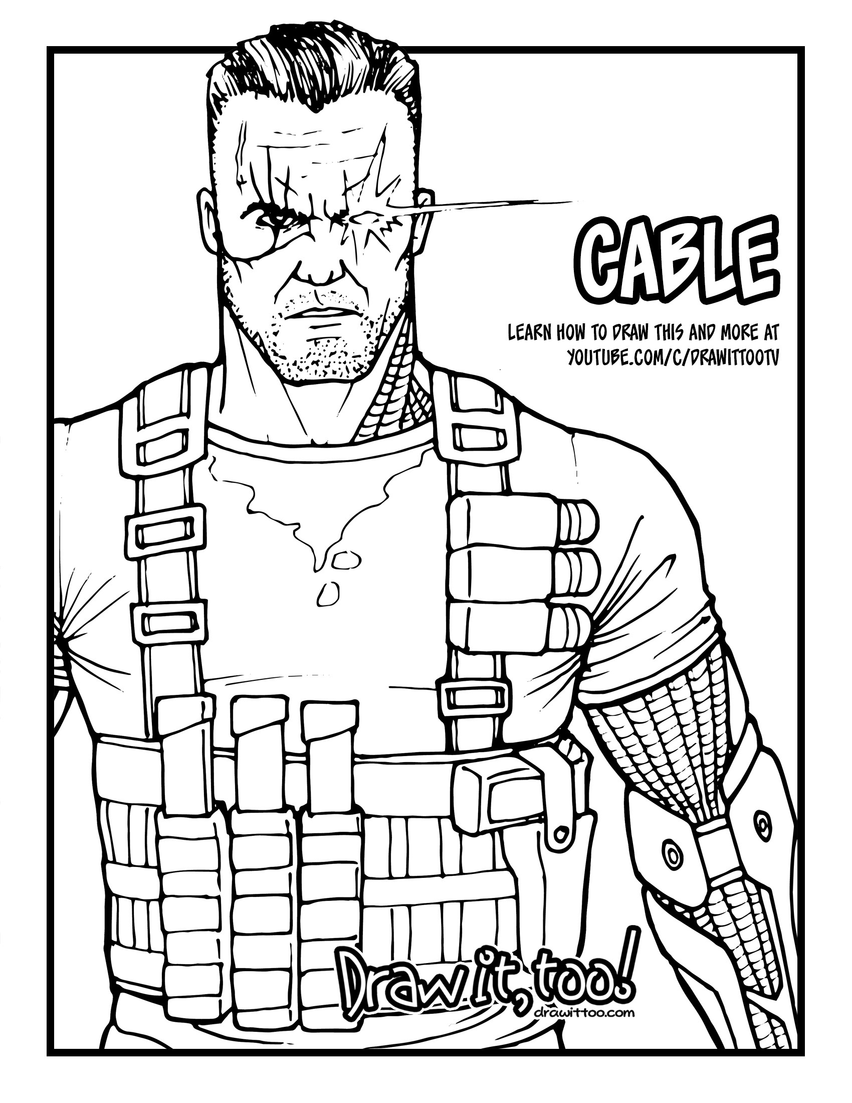 Cable Drawing At Getdrawings