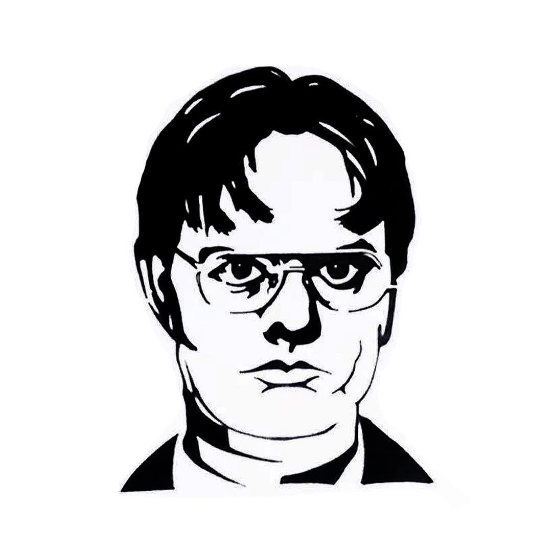 Dwight Schrute Drawing At Getdrawings