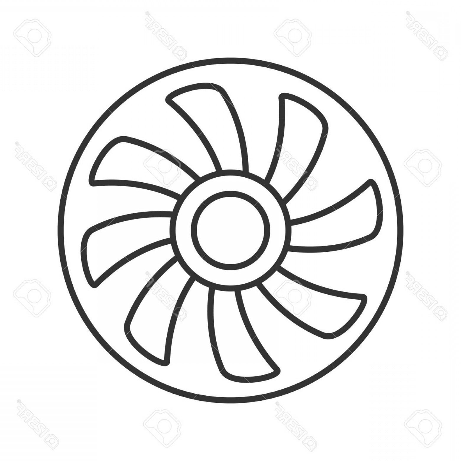 Exhaust Fan Symbol Drawing At Getdrawings