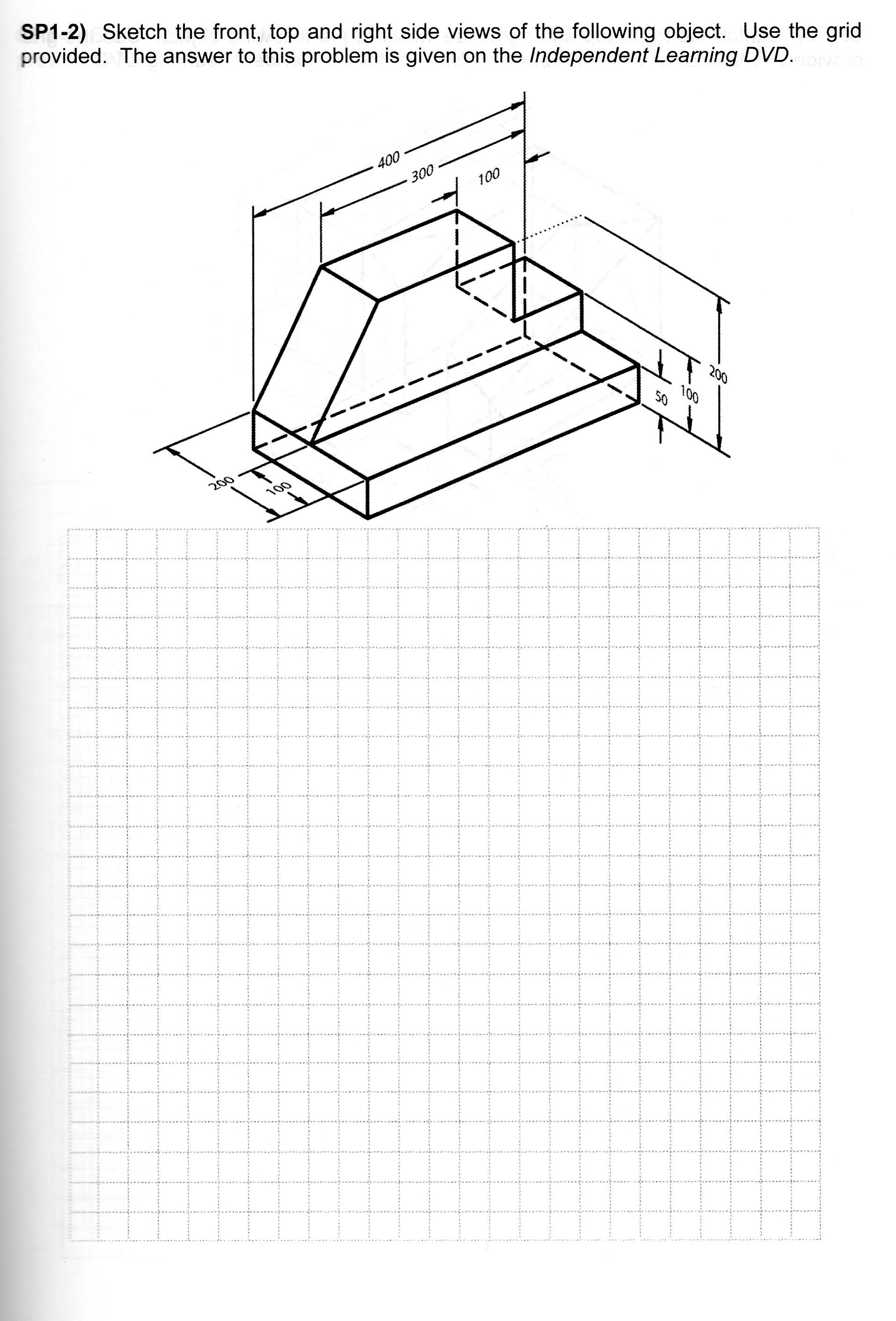 Isometric And Orthographic Drawing Worksheets At Getdrawings