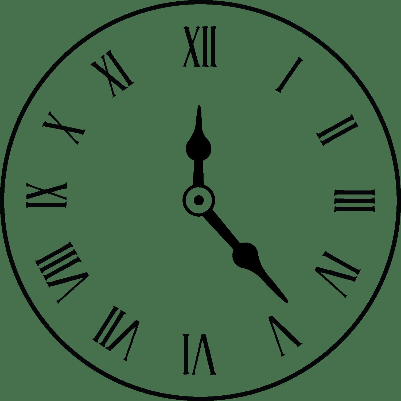 Clock Drawing At Getdrawings Com