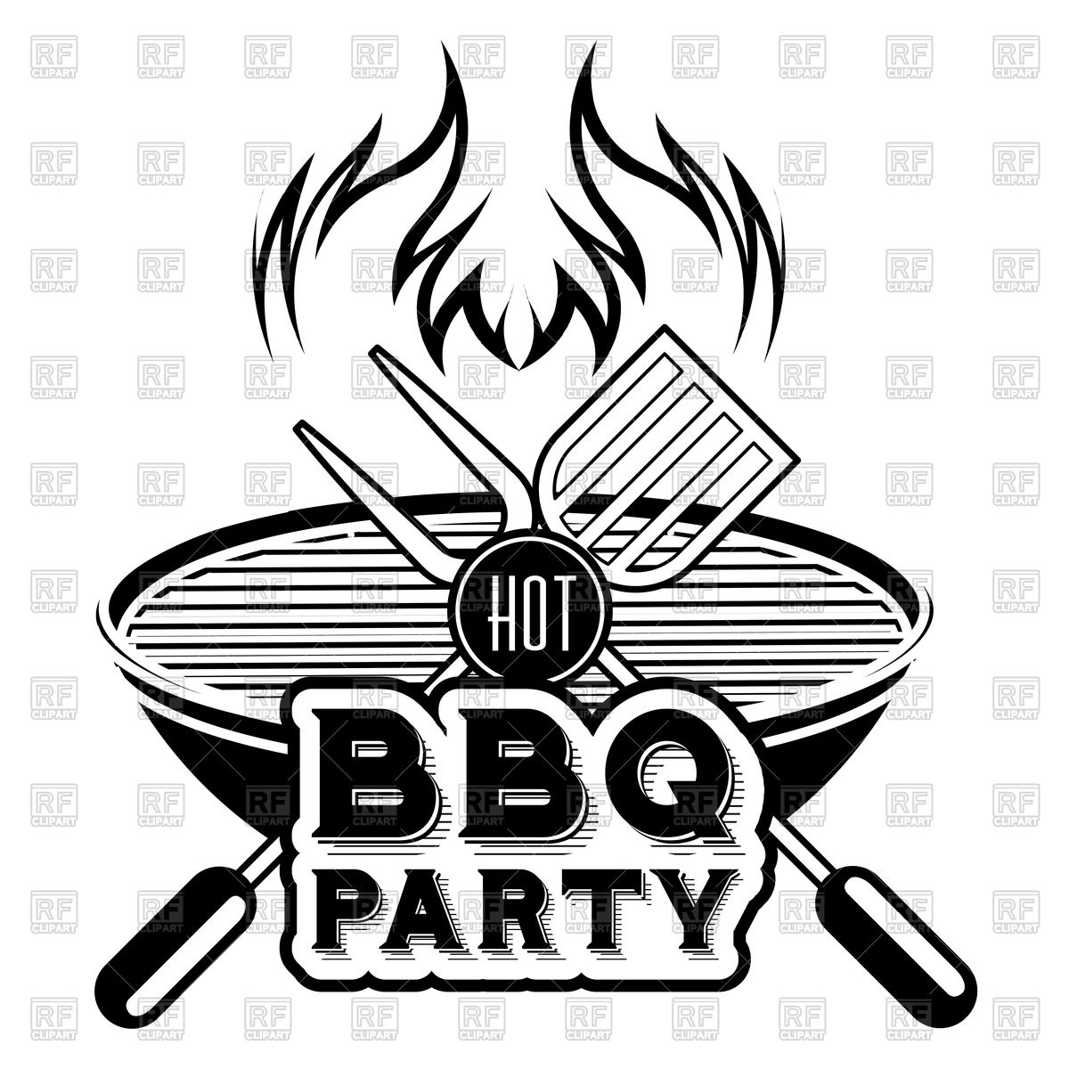 Barbecue Vector At Getdrawings