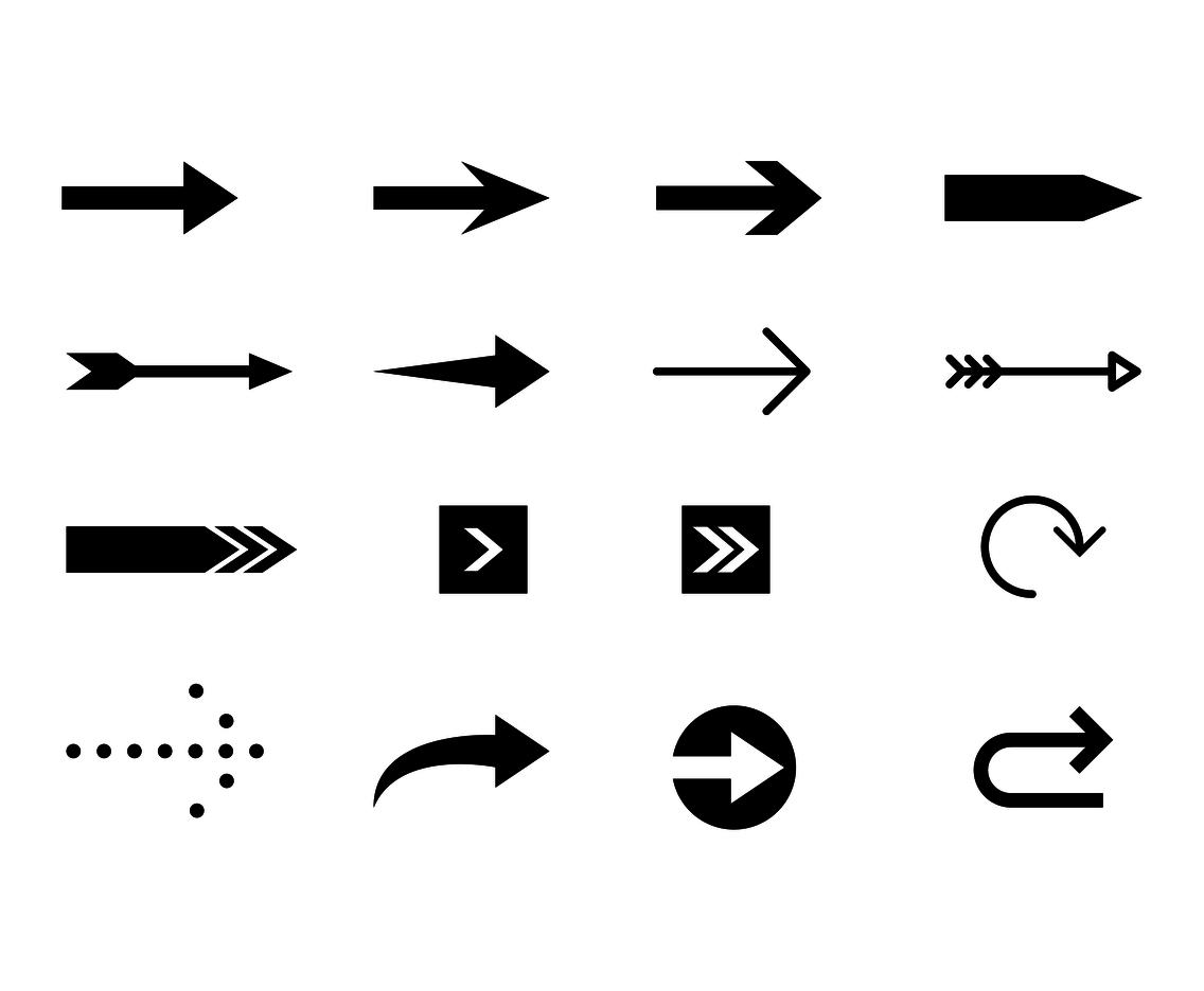 Decorative Arrow Vector At Getdrawings