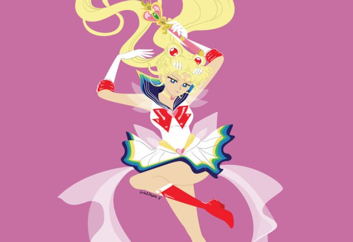 Sailor Moon Vector At Getdrawingscom Free For Personal Use Sailor