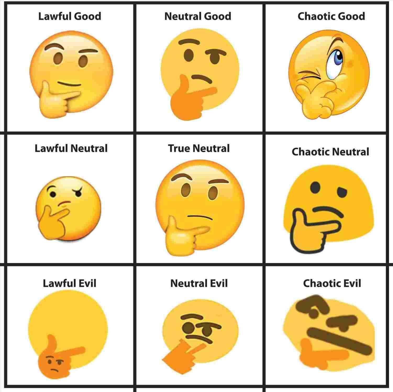 Thinking Emoji Vector At Getdrawings