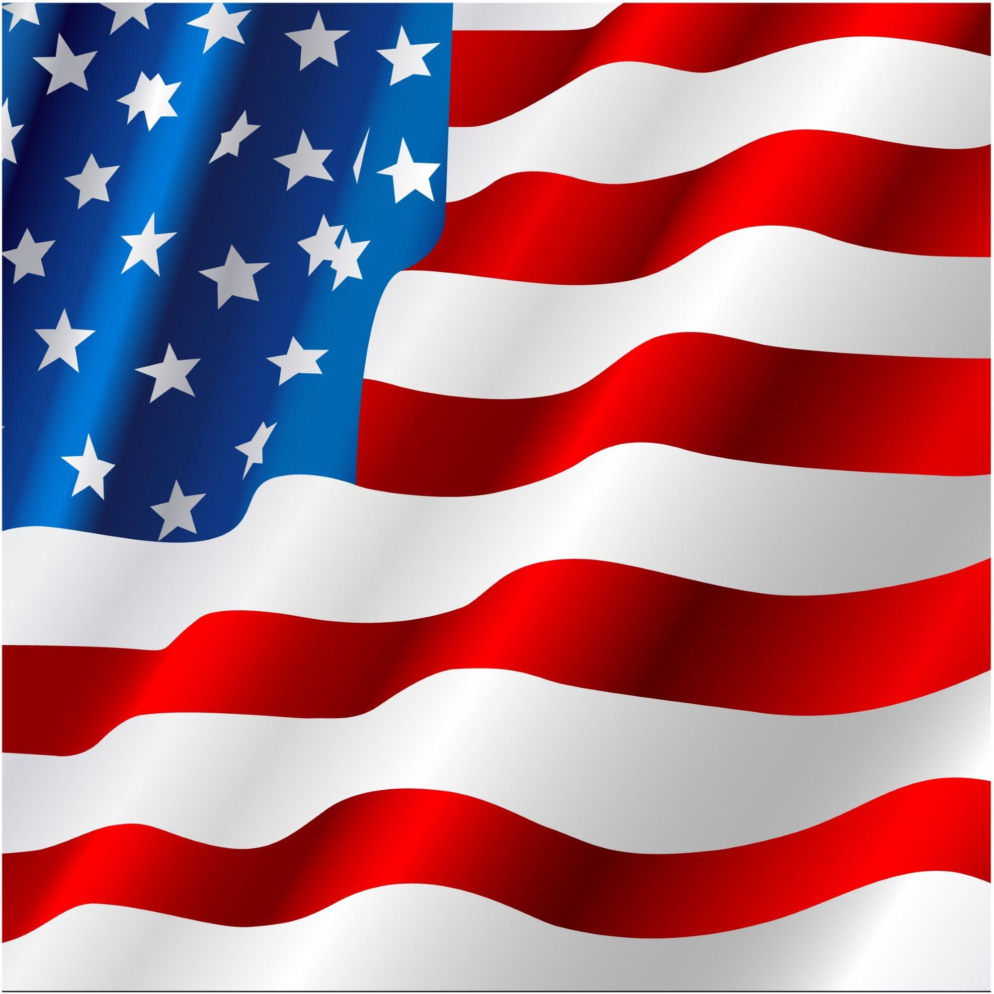 United States Flag Vector At Getdrawings