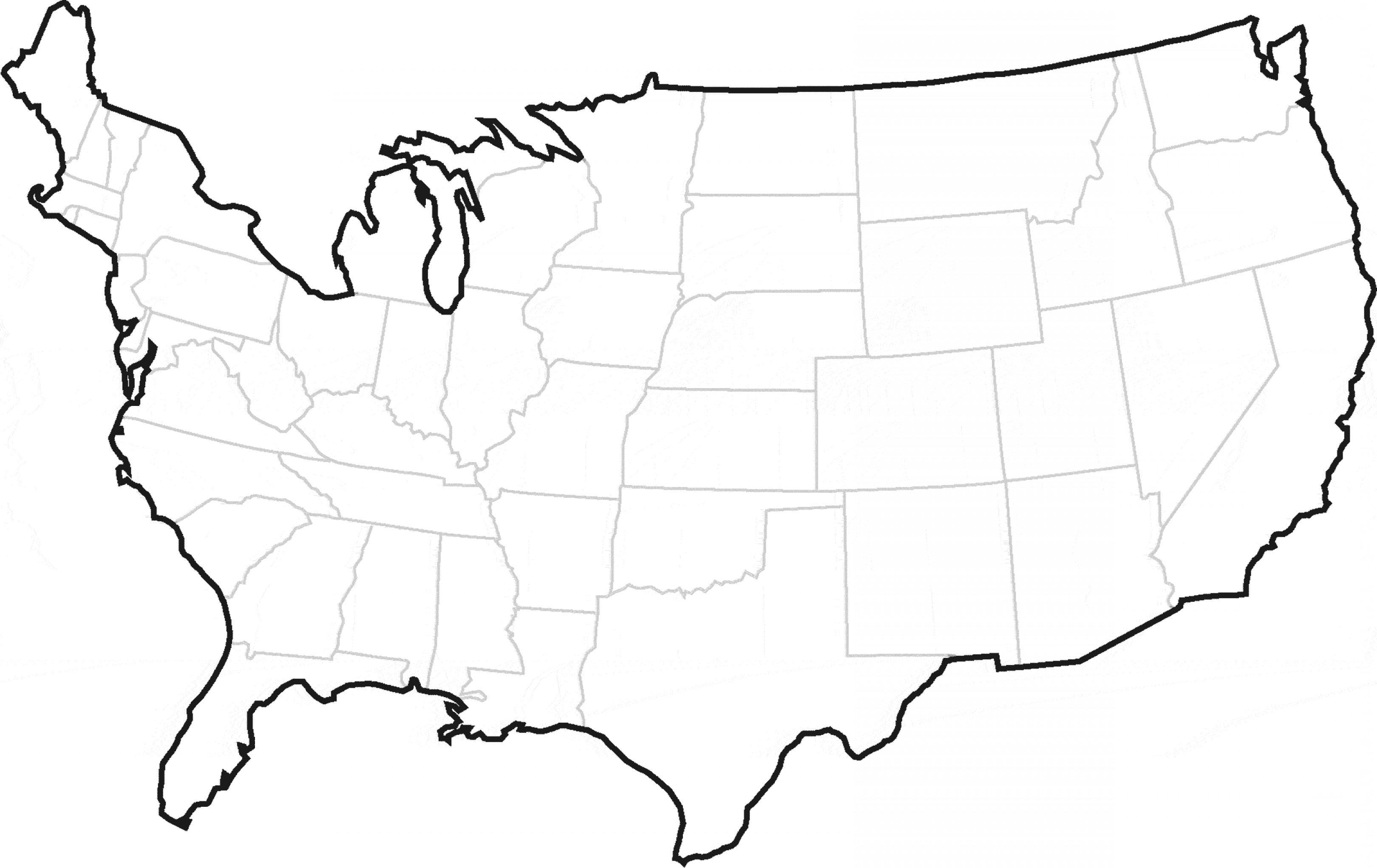 Us Map Vector At Getdrawings