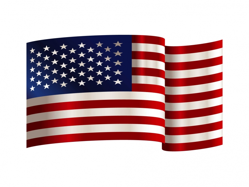Download Usa Flag Vector at GetDrawings | Free download