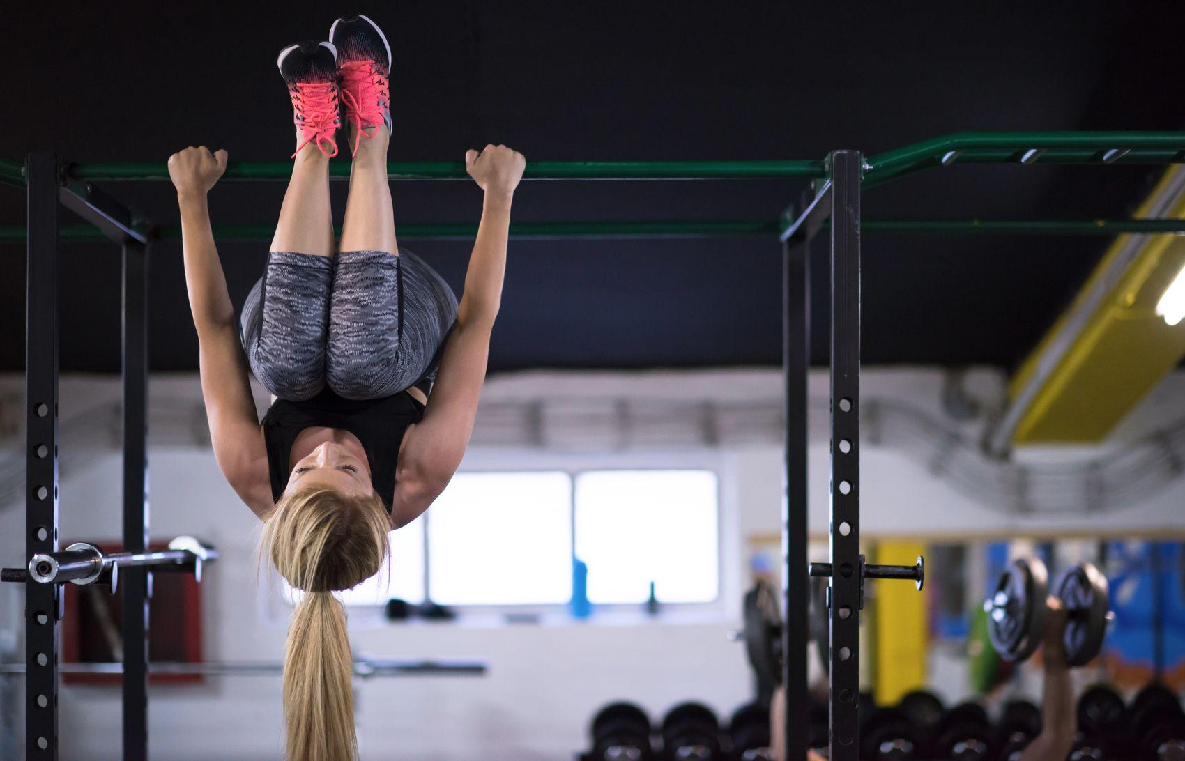 Pull-up Bar Exercises That Aren't Actually Pull-Ups