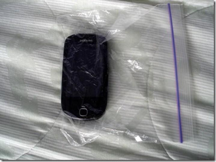 Phone in Bag April 30 2013