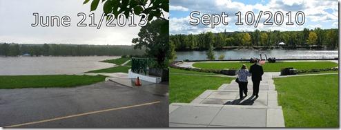 Baker Park Flood June 22 2013