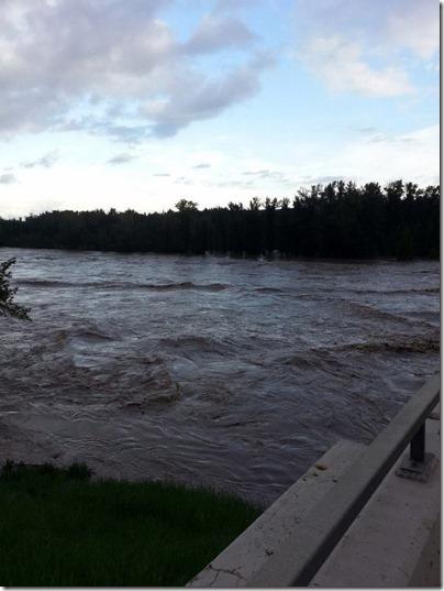 Bowmont Park Flood June 22 2013