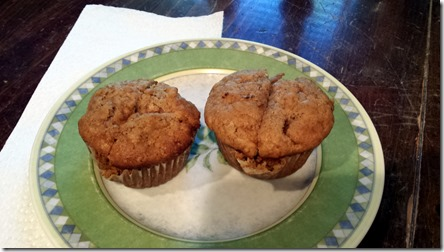 Apple Muffins June 24 2014
