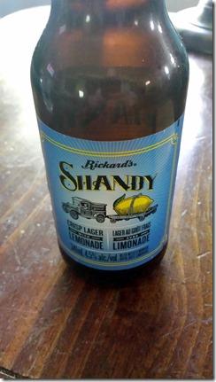 Rickard's Shandy June 14 2014
