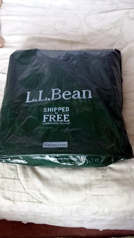 LL Bean Online Shopping Delivery August 27 2014
