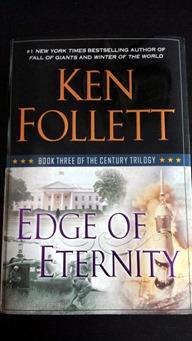 Edge of Eternity Book January 2015