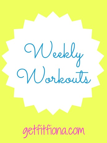 Weekly Workouts 2