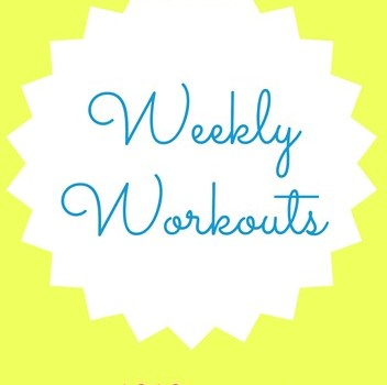Weekly Workouts March 15 to 21 2015