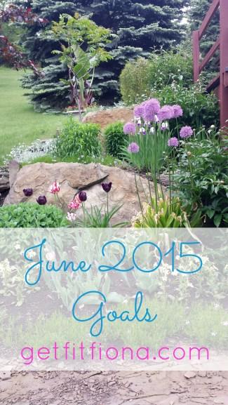 June 2015 Goals June 1 2014