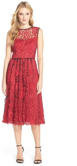 Red dress Holiday Fashion December 9 2015