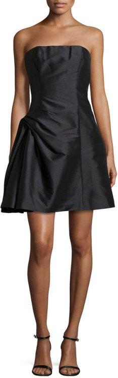 Strapless Dress Holiday Fashion December 9 2015