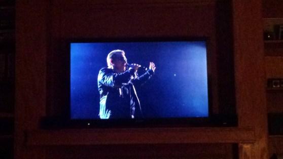 U2 on HBO Concert December 11 2015