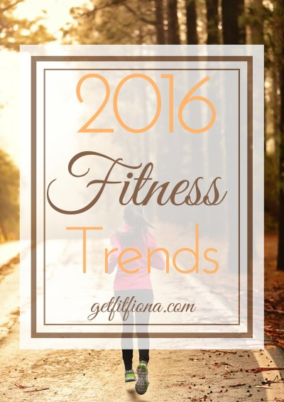 2016 Fitness Trends Revised January 6 2016