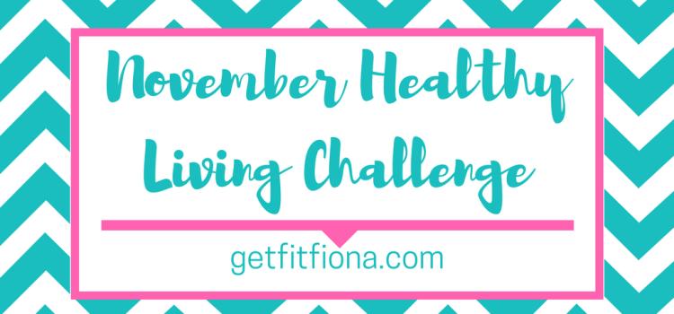 November Healthy Living Challenge