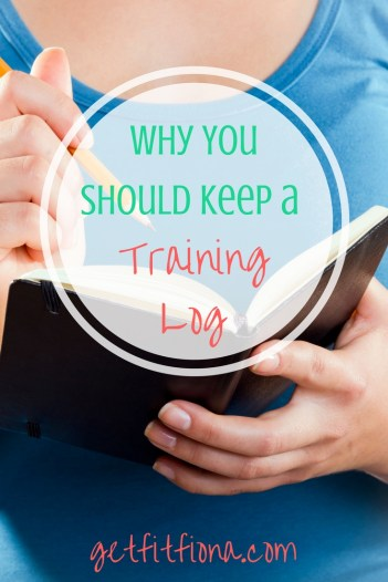 Why You Should Keep a Training Log