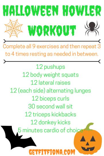 Halloween Howler Workout
